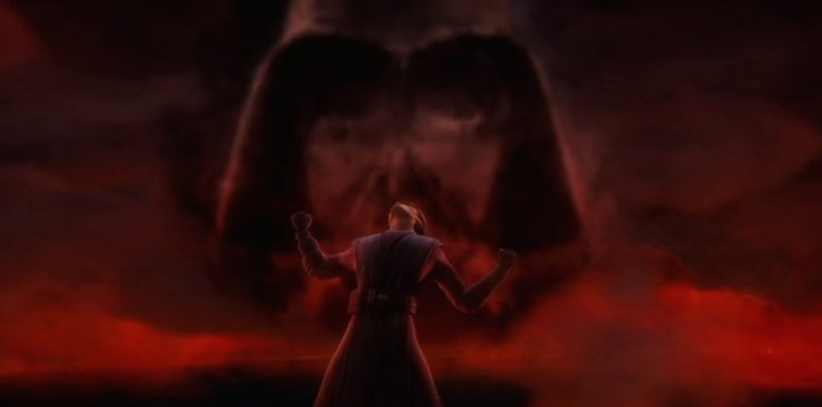 Anaking Skywalker, Clone Wars, Season 3, Ghosts of the Mortis