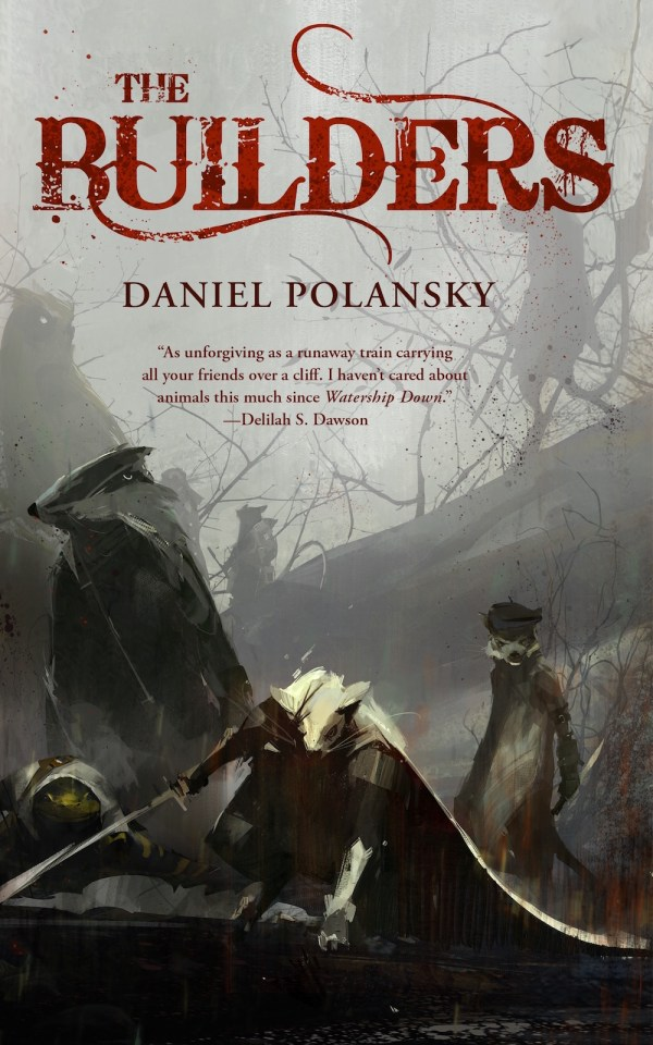 The Builders Daniel Polansky book cover Richard Anderson