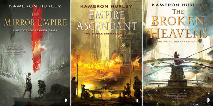 Richard Anderson Kameron Hurley book covers Worldbreaker Saga