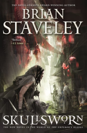 Richard Anderson SFF book covers Skullsworn Brian Staveley