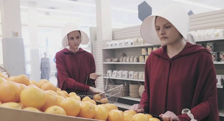The Handmaid's Tale television review Offred internal monologue