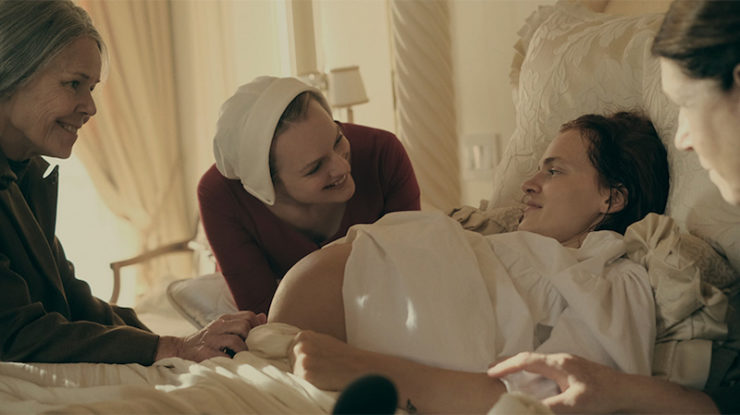 The Handmaid's Tale television review Janine Ofwarren birth