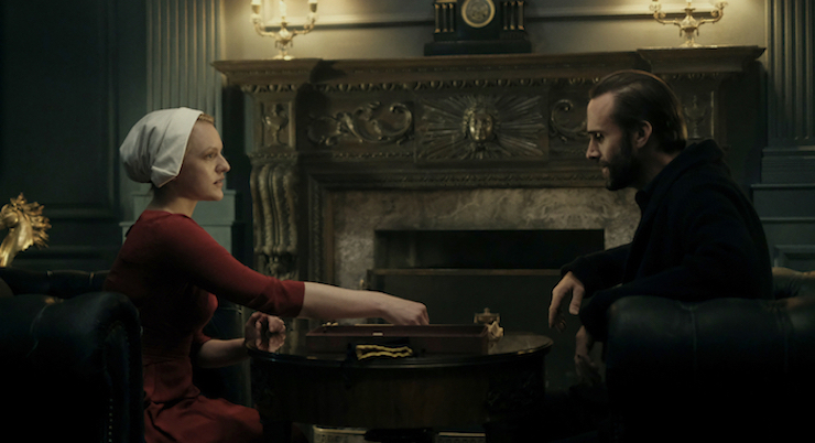 The Handmaid's Tale television review Scrabble Commander