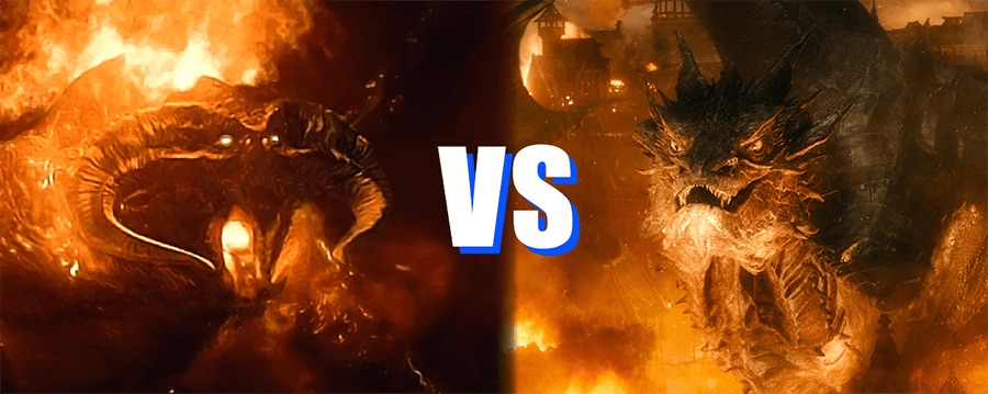Smaug vs. Durin's Bane: Who Would Win in the Ultimate ... Балрог Фильм