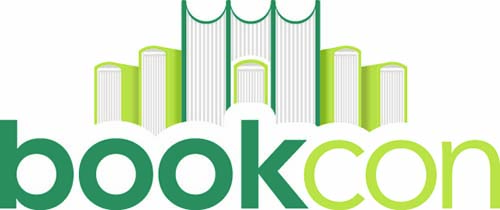 BookCon logo Tor/Forge Books schedule