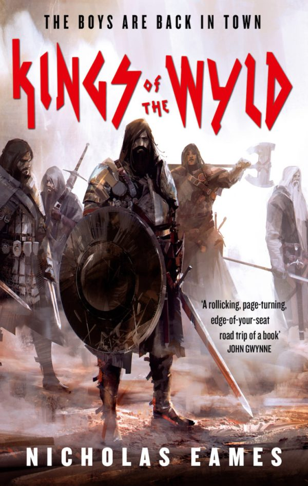 Richard Anderson SFF book covers Kings of the Wyld Nicholas Eames