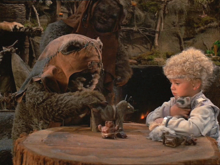 Cindel, Wicket, Ewok Adventure, ferrets