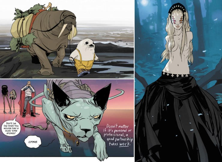 Saga characters diversity