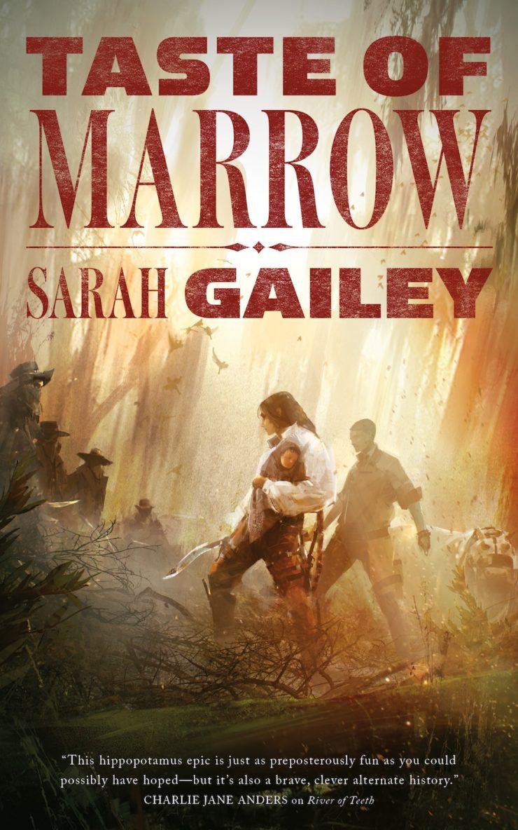 Taste of Marrow Sarah Gailey cover Richard Anderson