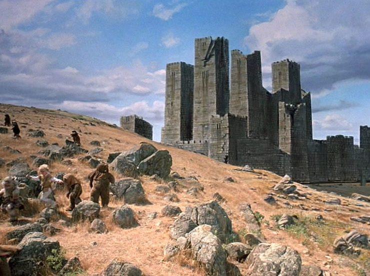 Terak's Castle, Battle for Endor