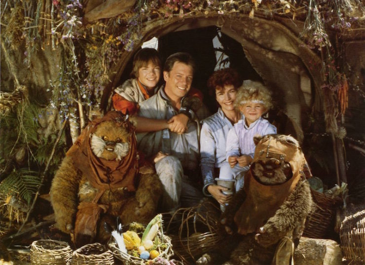 Towani family, ewok adventures