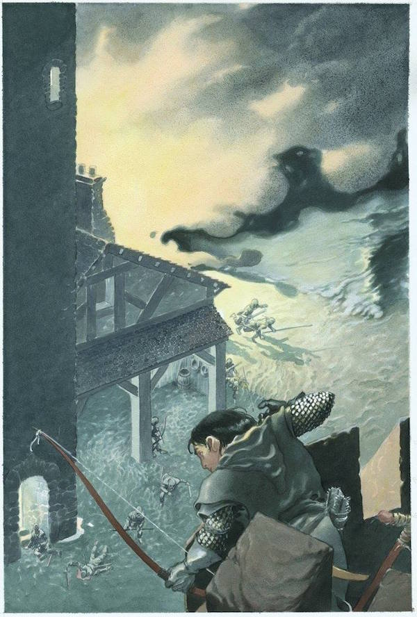 Charles Vess, A Storm of Swords by George R.R. Martin, limited edition run