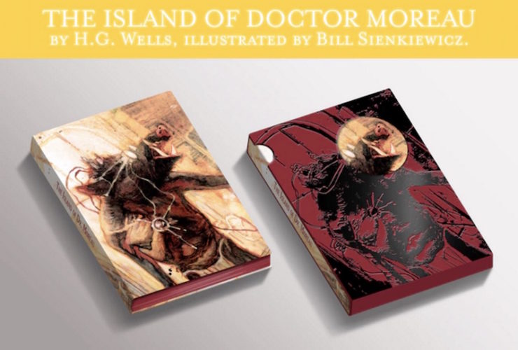Beehive Books, The Island of Doctor Moreau, Bill Sienkiewicz