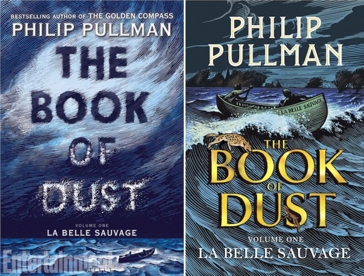 The Book of Dust La Belle Sauvage Philip Pullman US UK covers Chris Wormell