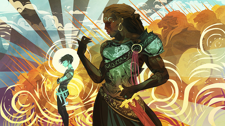 Blog Post Featured Image - The Striking Style of SFF Artist Galen Dara