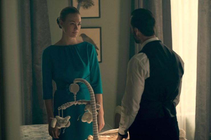 "The Handmaid's Tale 1x10 ""Night"" television review season finale"