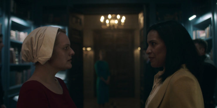 The Handmaid's Tale bitches praised be language oppression