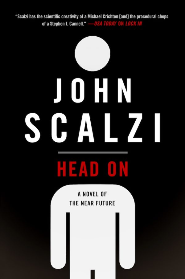 John Scalzi, Head On, cover crop