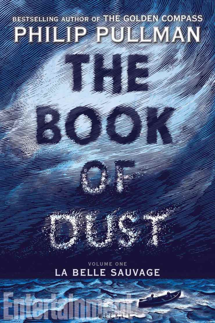 The Book of Dust Philip Pullman La Belle Sauvage book cover US