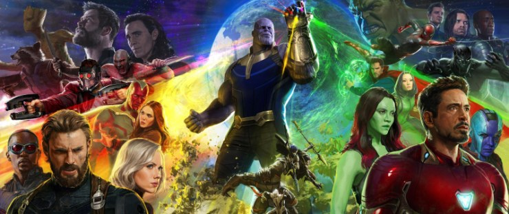 Avengers: Infinity War poster SDCC
