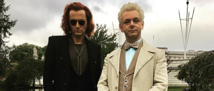 Good Omens first look David Tennant Michael Sheen