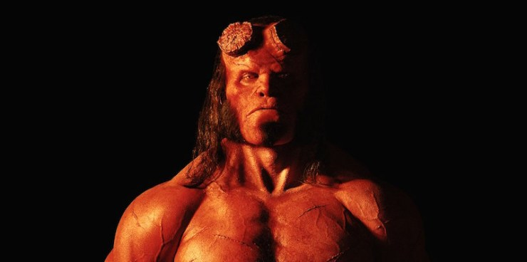 Hellboy movie David Harbour release date 2019