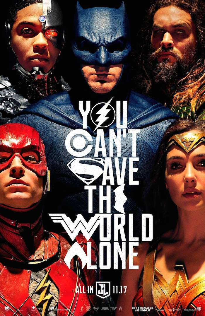 Justice League poster, 2017