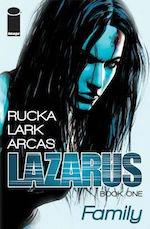 Lazarus comic book Greg Rucka adaptation