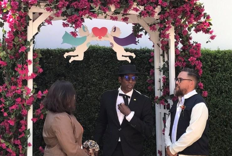 Orlando Jones officiate Syfy geeky weddings SDCC 2017