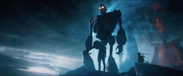 Ready Player One SDCC 2017 Iron Giant