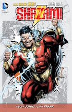 Shazam! comic book movie adaptation DC