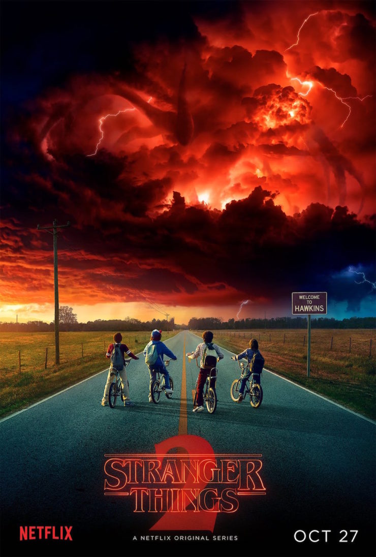 Stranger Things season 2 poster teaser premiere date October 27
