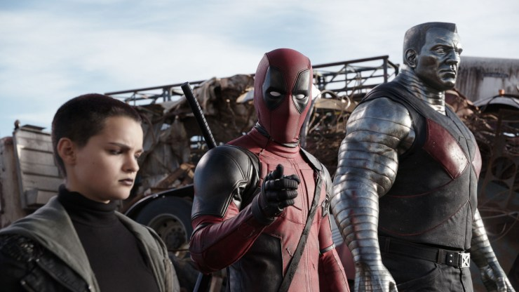 Deadpool movie Colossus Negasonic Teenage Warhead