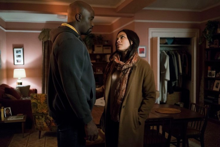 The Defenders season 1 overview review Claire Temple Rosario Dawson