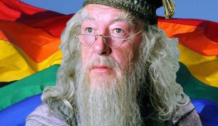 Albus Dumbledore, Pride flag