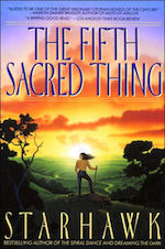 The Fifth Sacred Thing Starhawk five books about anarchisms