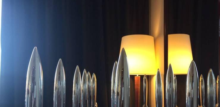 Hugo Award statues