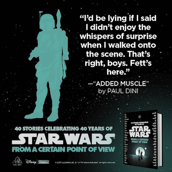 Boba Fett Jon Hamm Star Wars: From a Certain Point of View audiobook