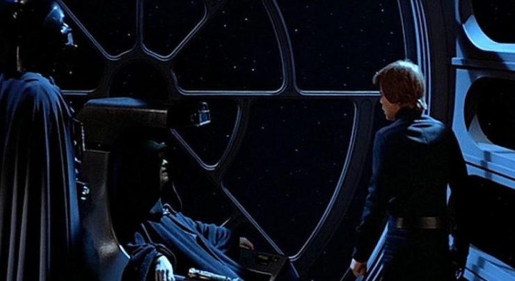 Luke, Emperor Palpatine, Vader