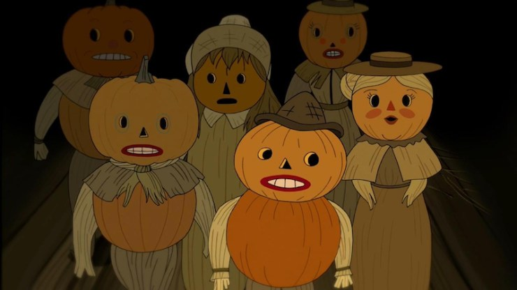 Over the Garden Wall quirky horror list