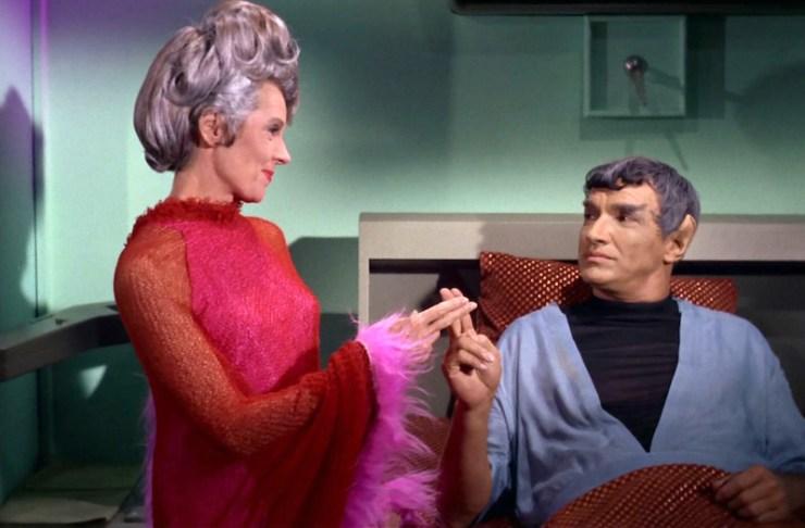 Star Trek, Sarek and Amanda