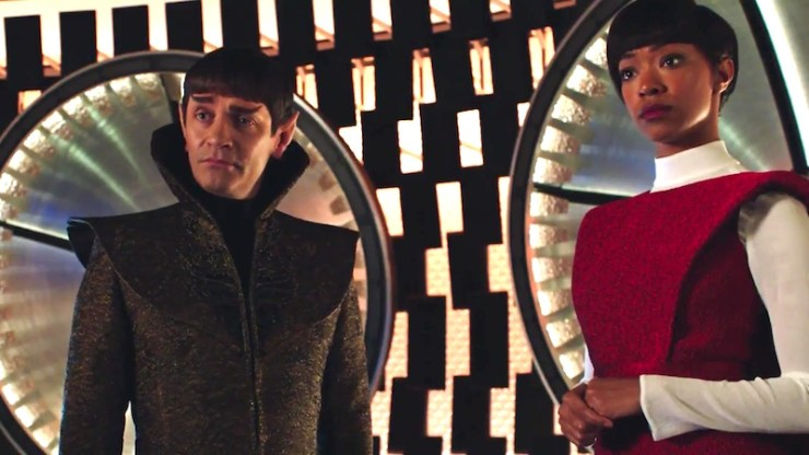 Star Trek: Discovery, Sarek and Michael