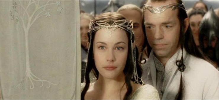 Elrond Arwen Lord of the Rings TV speculation
