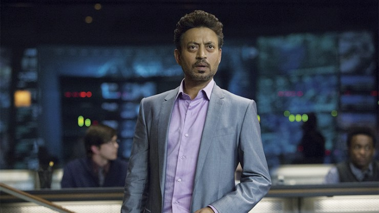 Irrfan Khan Jurassic World Lord of the Rings TV series dreamcast