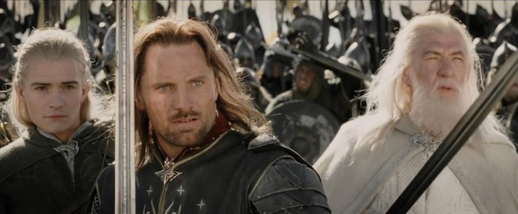 Lord of the Rings TV speculation Aragorn Gandalf buddy cop show