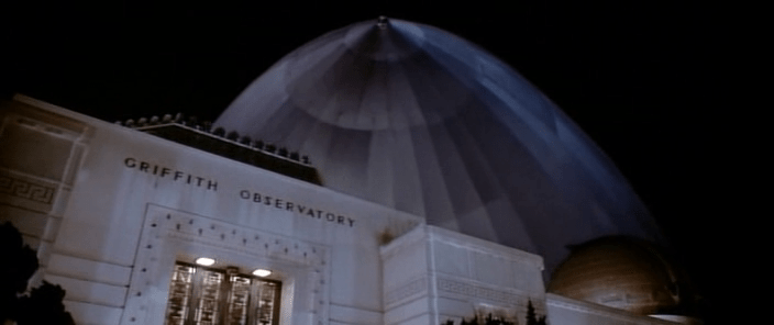 The Rocketeer Griffiths Observatory zeppelin