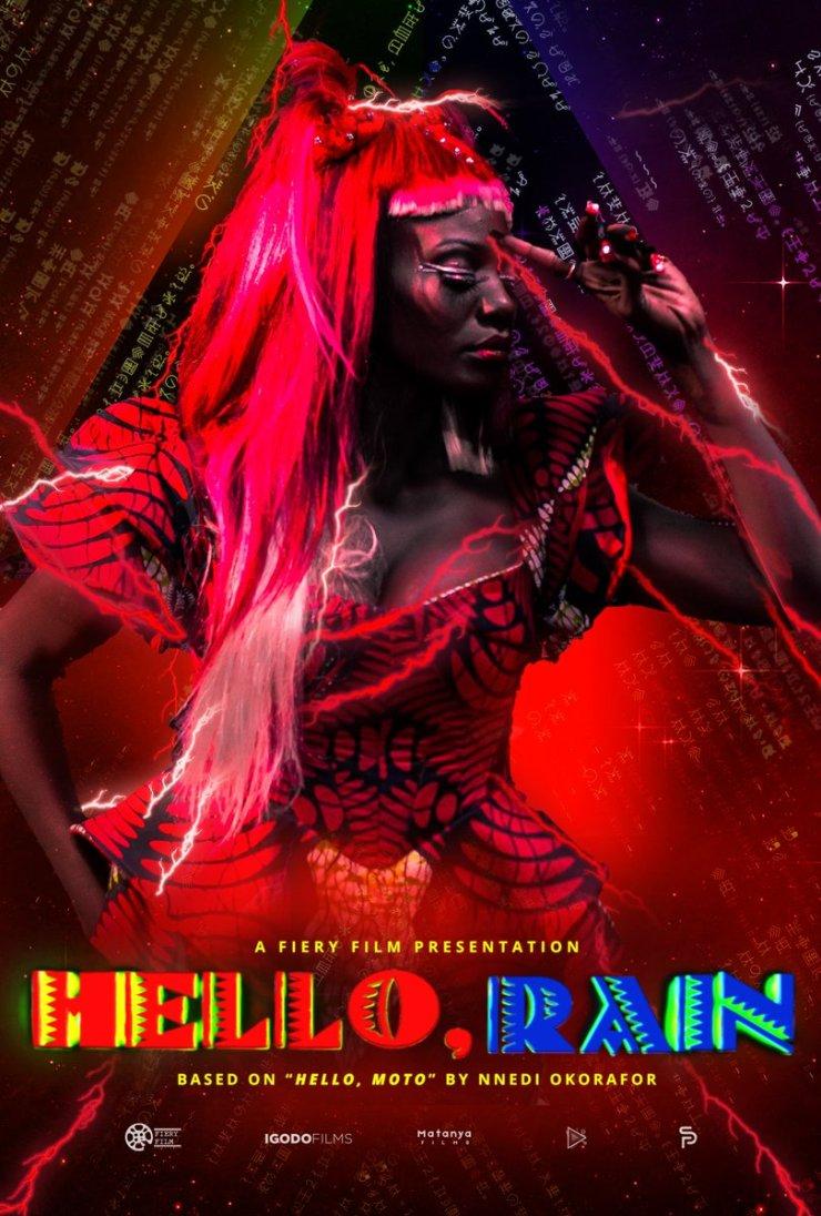 Hello, Rain character posters Coco Nnedi Okorafor