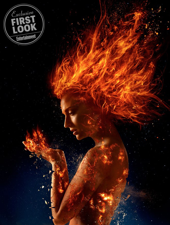 Jean Grey Dark Phoenix Sophie Turner