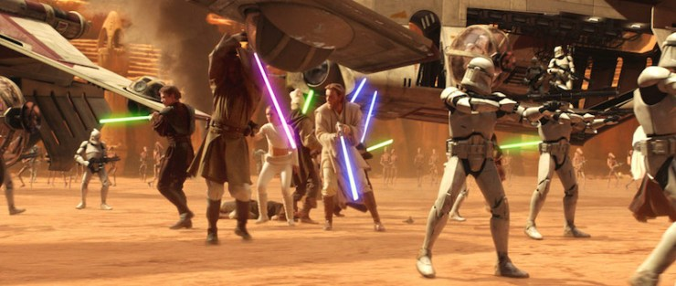 Jedi, Attack of the Clones