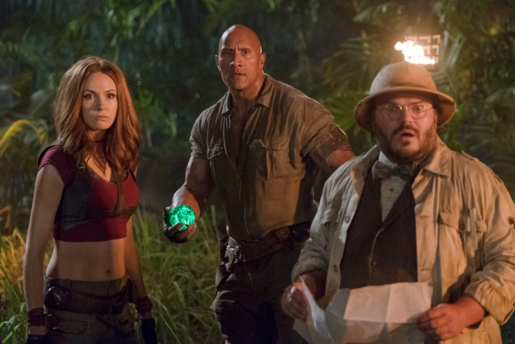 Jumanji: Welcome to the Jungle movie review User Unfriendly Vivian Vande Velde